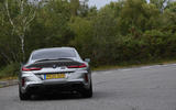 BMW M8 Gran Coupe 2020 UK first drive review - cornering