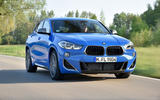 BMW X2 M35i 2019 first drive review - on the road front