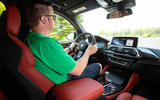 BMW X3 M Competition 2019 first drive review - Matt Saunders driving