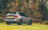BMW X3 M Competition 2019 UK first drive review - static rear