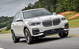 BMW X5 2019 first drive review on the road front