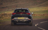 16 Cupra Formentor VZ2 2021 UK first drive on road rear