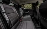 16 Dacia Sandero Stepway 2021 UK first drive review rear seats
