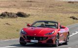 16 Ferrari Portofino M 2021 UK FD on road front