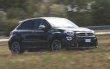 Fiat 500x Sport 2019 first drive review - on the road front