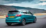Ford Fiesta EcoBoost mHEV 2020 UK first drive review - static rear