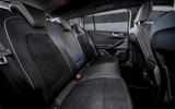 Ford Focus ST estate EcoBlue 2019 first drive review - rear seats