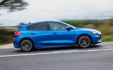 Ford Focus ST-Line 182PS 2018 UK first drive review - on the road side