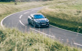 Ford Mustang Mach E 2021 UK first drive review -  cornering front