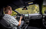 Ford Puma ST 2020 UK first drive review - Matt Saunders driving