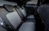 Ford Puma Titanium 2020 first drive review - rear seats
