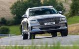 16 Genesis GV80 2021 UK FD on road front