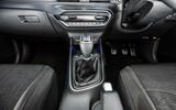 16 Hyundai Bayon 2021 UK FD gearstick