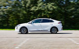 Hyundai Ioniq Electric 2019 first drive review - on the road side