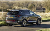 16 Hyundai Santa fe 2021 UK first drive review on road rear
