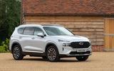 16 Hyundai Santa Fe PHEV 2021 UK FD static front