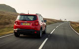 Jeep renegade Longitude 2019 UK first drive review - on the road rear