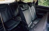 Kia Sorento hybrid 2020 UK first drive review - rear seats