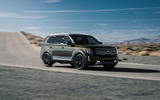 Kia Telluride 2019 first drive review - cornering front