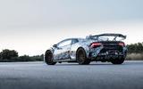 Lamborghini Huracan STO 2020 first drive review - static rear