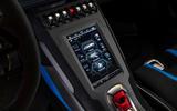 16 Lamborghini Huracan STO 2021 FD infotainment