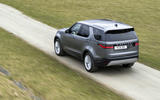 16 Land Rover Discovery D300 2021 UK first drive review on road rear