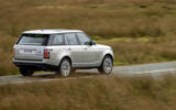 Land Rover Range Rover D300 2020 UK first drive review - on the road rear