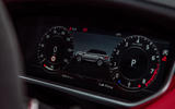 Land Rover Range Rover Sport HST 2019 UK first drive review - instruments