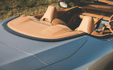 Lexus LC Convertible 2020 UK first drive review - headrests