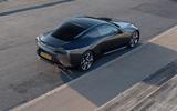 16 Lexus LC500 2021 UK FD static rear
