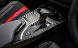 Lexus UX 2019 UK first drive review - centre console