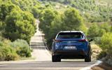 Lexus UX300e 2020 UK first drive review - cornering rear