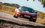 Lotus evora GT410 2020 UK first drive review - on the road nose