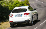 Maserati Levante Gransport 2018 UK first drive review on the road rear