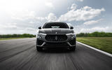Maserati Levante Trofeo 2019 first drive review - on the road nose