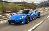 16 Maserati MC20 2021 FD road front