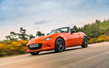 Mazda MX-5 30th Anniversary Edition 2019 UK first drive review - on the road front