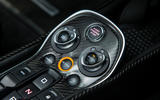 McLaren 570S Spider Track Pack 2018 UK review centre console