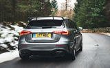 Mercedes-AMG A35 2019 UK first drive review - cornering rear