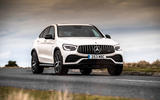 Mercedes-AMG GLC 43 Coupé 2020 UK first drive review - on the road front
