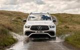 16 Mercedes AMG GLE 63S 2021 UK FD splash