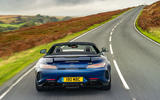 Mercedes-AMG GT R Roadster 2019 UK first drive review - on the road rear