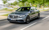 Mercedes-Benz C-Class C200 2018 review on the road front