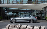 Mercedes-Benz C-Class C200 AMG Line 2018 UK review static side