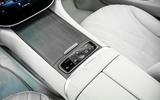 16 Mercedes Benz EQS 2021 UK LHD FD centre console