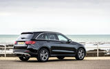 Mercedes-Benz GLC 220d 2019 UK first drive review - static rear