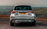 Mercedes-Benz GLE 2019 UK first drive review - static rear