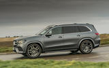 Mercedes-Benz GLS 400d 2019 UK first drive review - on the road side