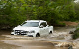 Mercedes-Benz X-Class longterm review wading front