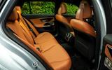 16 Mercedes C Class Estate 2021 UK LHD FD rear seats